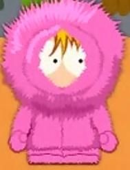 Pink, Fuzzy Kenny!