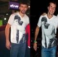 Piqué had the same shirt as Stepanek had previously ! - gerard-pique fan art