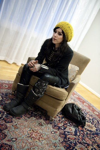 Portraits during an interview in Stockholm 2010
