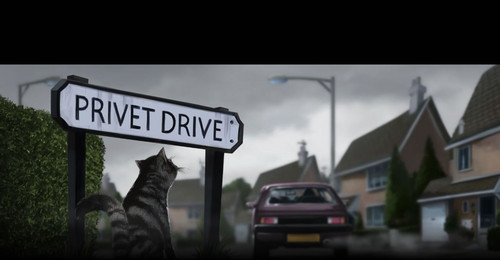 Pottermore chapter 1(Privet Drive)