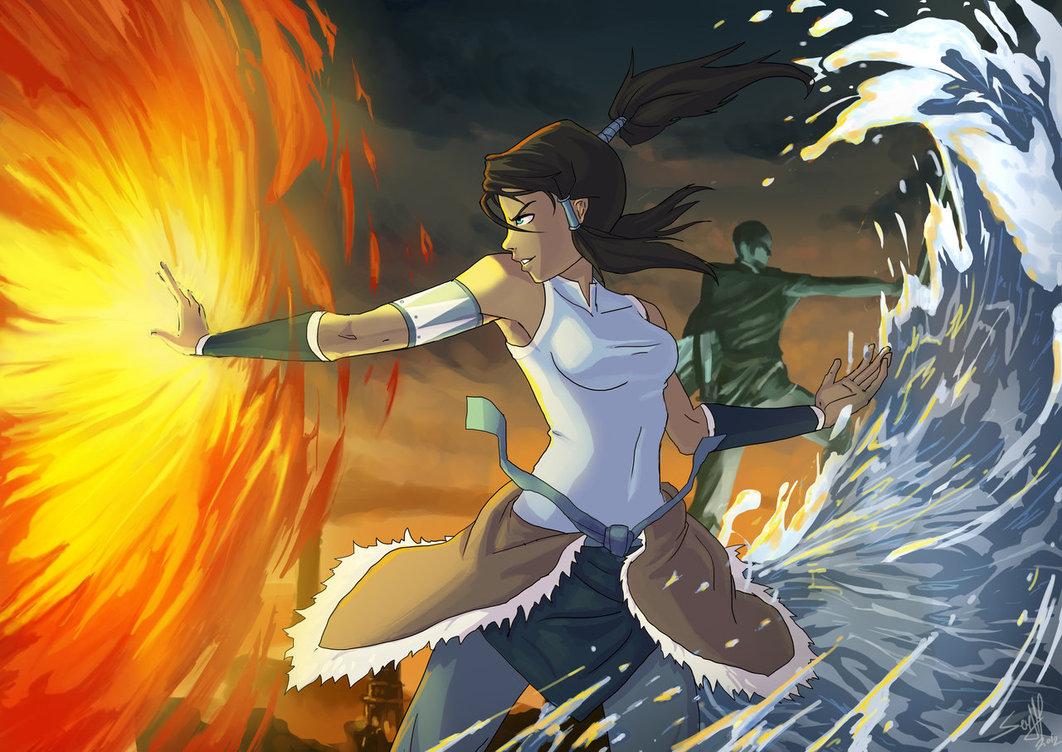 Powerful Benders - Avatar: The Legend of Korra Fan Art ...