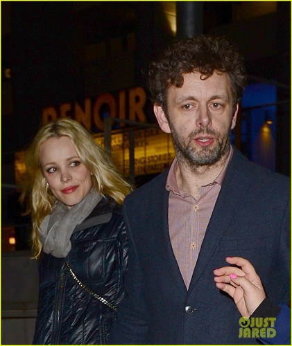 Rachel McAdams & Michael Sheen: Cigala Sweethearts