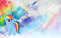 arcobaleno Dash wallpaper