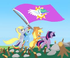 Raise the Flag, Ponies!!!