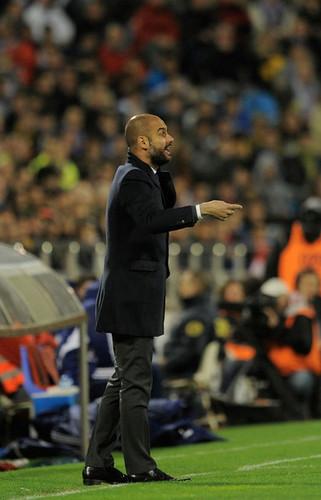 Real Zaragoza (1) v FC Barcelona (4)