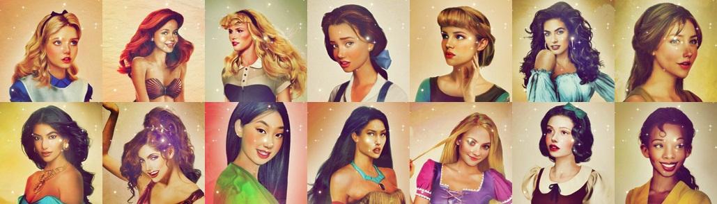 Real life Дисней heroines