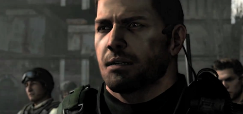Resident Evil 6 Chris Redfield
