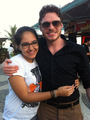 Richard Madden and fan