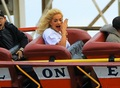 Rita Ora - Enjoying Herself At Coney Island - April 11, 2012
