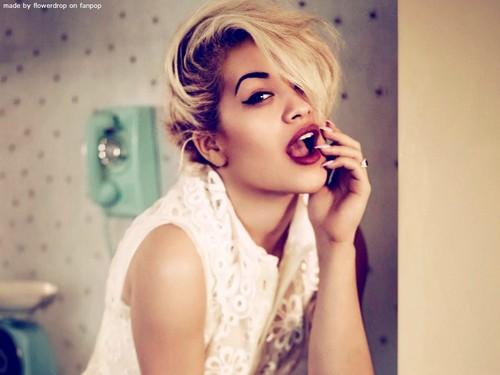 Rita Ora پیپر وال ღ
