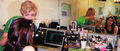 Ross doing makeup. Awwww! - ross-lynch photo