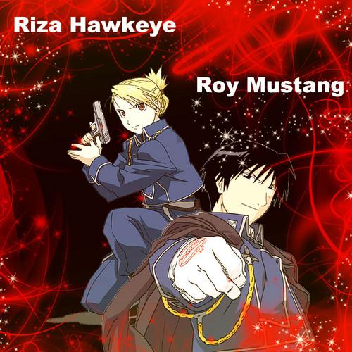 Roy and Riza
