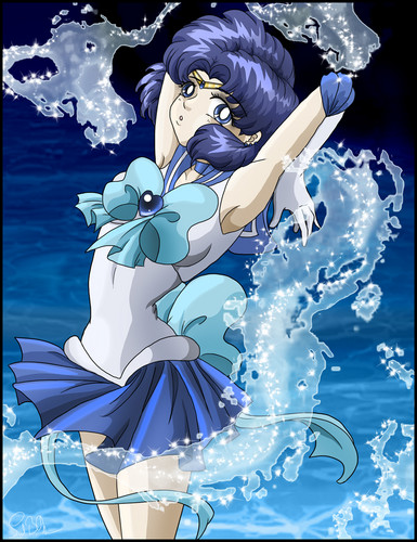 Sailor Mercury - anime-girls Fan Art