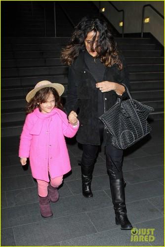 Salma Hayek: Westfield Mall with Valentina