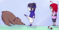 Sasuke rescues Karin