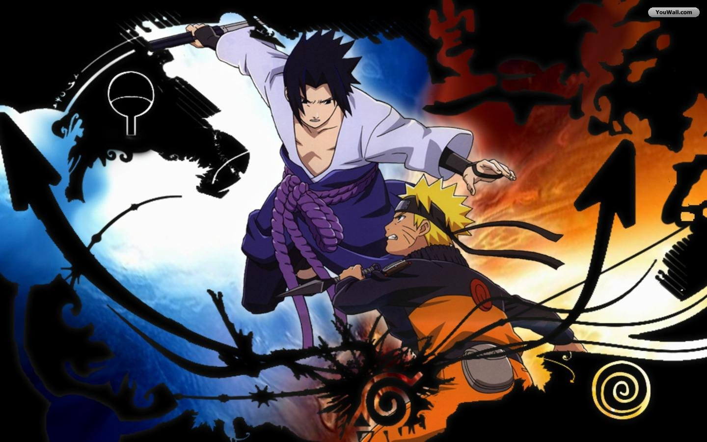 Sasuke vs Naruto - Kiba16 Wallpaper (30407168) - Fanpop fanclubs