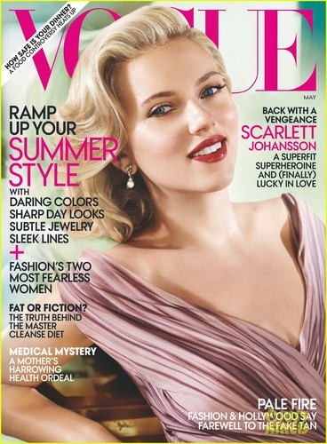 Scarlett Johansson Covers 'Vogue' May 2012
