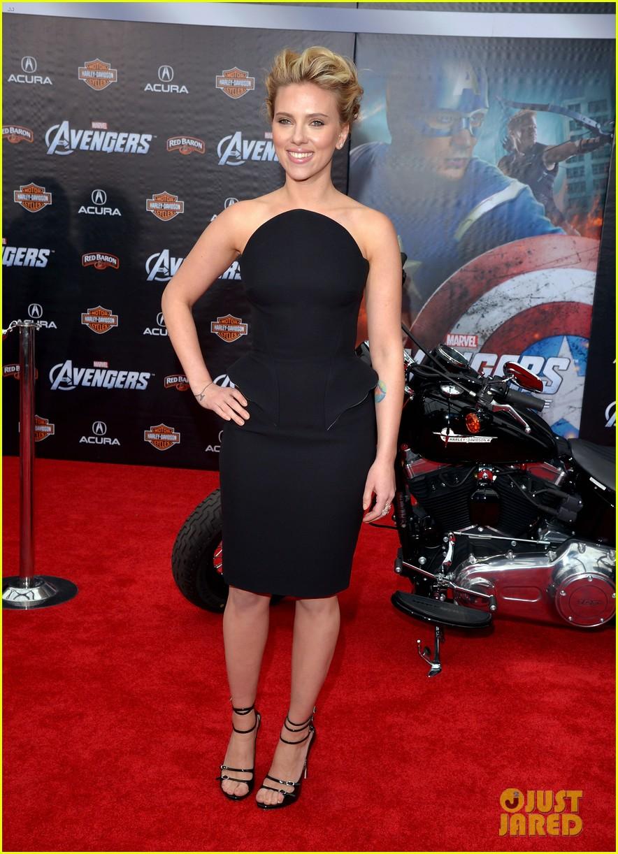 Scarlett Johansson: 'The Avengers' Premiere!