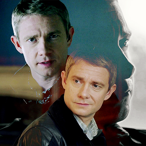 Sherlock on BBC One wallpaper probably with a business suit and a portrait called John Watson