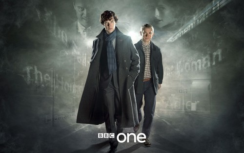Sherlock wallpaper probably with a business suit and a well dressed person titled Sherlock