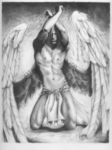 Silver angel (?)
