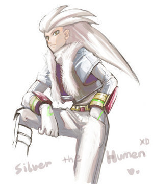 Silver the hedgehog (human)