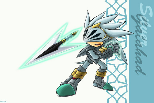 Sir Galahad/ Silver the hedgehog