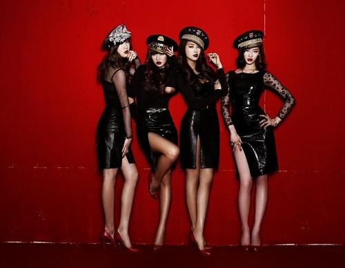 "Sistar ""Alone"" album jaket foto"