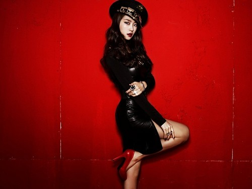 "SISTAR (씨스타) wallpaper probably with a leotard, tights, and a bustier, bustiê titled Sistar Bora ""Alone"" album jaqueta fotografias"