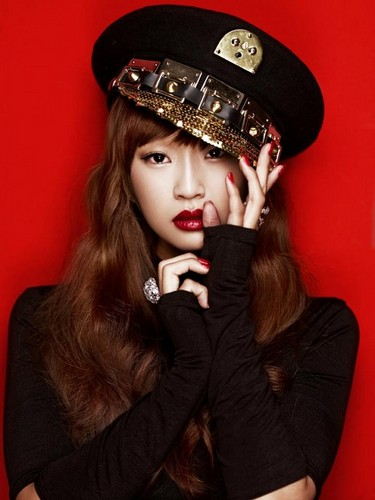 "Sistar Hyorin ""Alone"" album ジャケット 写真"