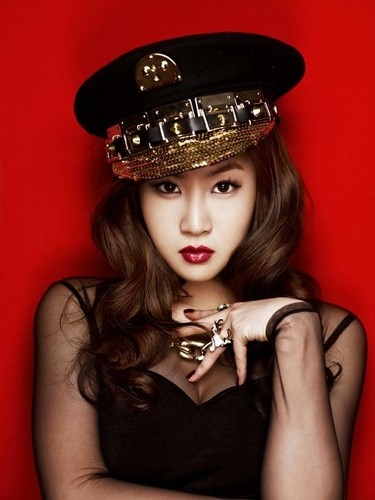 "Sistar Soyou ""Alone"" album jaket foto"