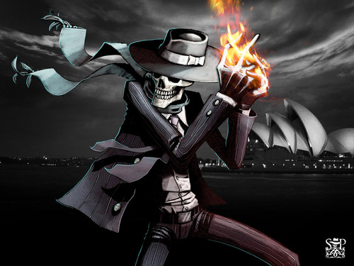 Skulduggery in Australia - skulduggery-pleasant Photo