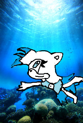 Snowy under the sea X3 - sonic-fan-characters Photo
