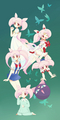 So many sides of Chibiusa - anime-girls fan art