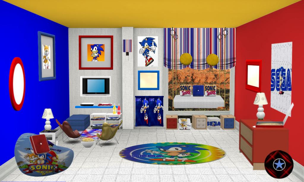 Sonic The Hedgehog Room Ideas