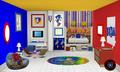 Sonic Bedroom
