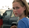 Sophia on highway - the-walking-dead-sophia photo