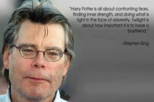 Stephen King wallpaper containing a business suit and a portrait entitled Stephen's quote