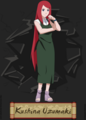Strong woman Kushina