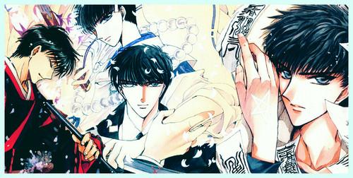 Kamui and Subaru wallpaper possibly with anime called Subaru Sumeragi and Seishirou Sakurazuka (X/1999)