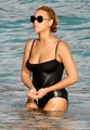 Swimsuit On The Beach In St Barths [9 April 2012] - beyonce photo