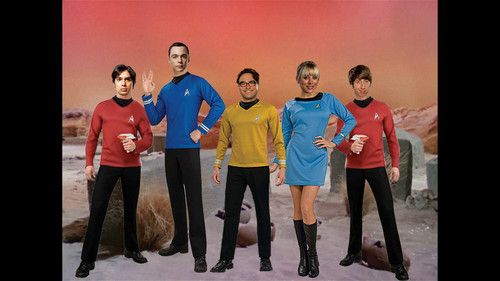 빅뱅이론 바탕화면 titled TBBT TREK crossover