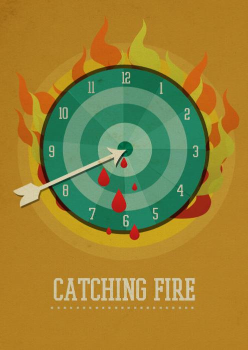 Minimalist Classroom Quiz ~ Thg posters fanarts the hunger games fan art