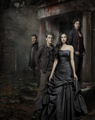 The Vampire Diaries wallpaper containing a toga, abito titled TVD
