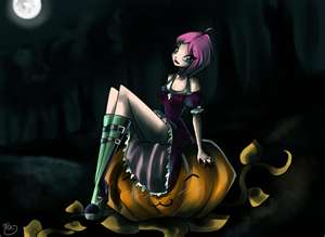 Tecna_Halloween - tecna-from-winx-club Photo