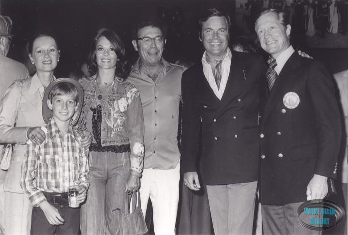 Terry Stanfill, Dennis Jr., Nat, Irwin Allen, RJ and Dennis Stanfill