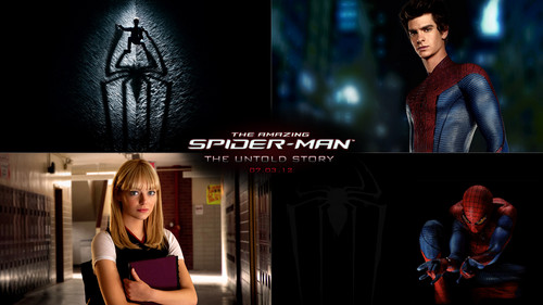 The Amazing Spider-Man Collage Wallpaper - upcoming-movies Wallpaper
