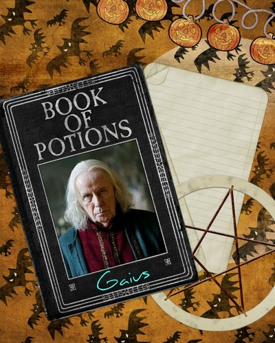 The Book of Potions by Gaius