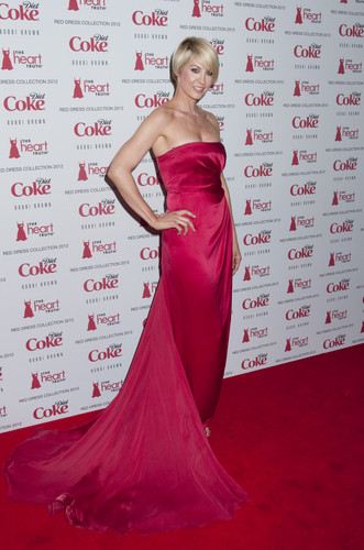 The hart-, hart Truth's Red Dress 2012 Collection Launch