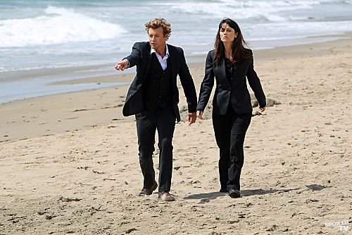The Mentalist - Episode 4.22 - So Long, and Thanks for All the Red स्नैपर - Promotional चित्र